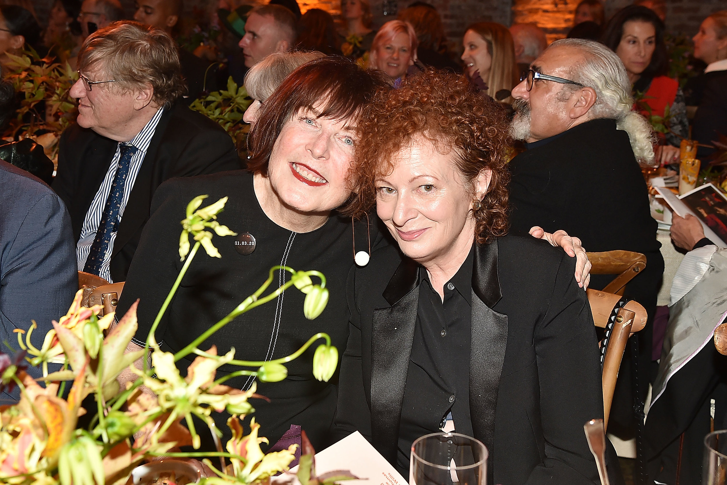 Marilyn Minter and Nan Goldin. Patrick McMullan/PMC © Patrick McMullan
