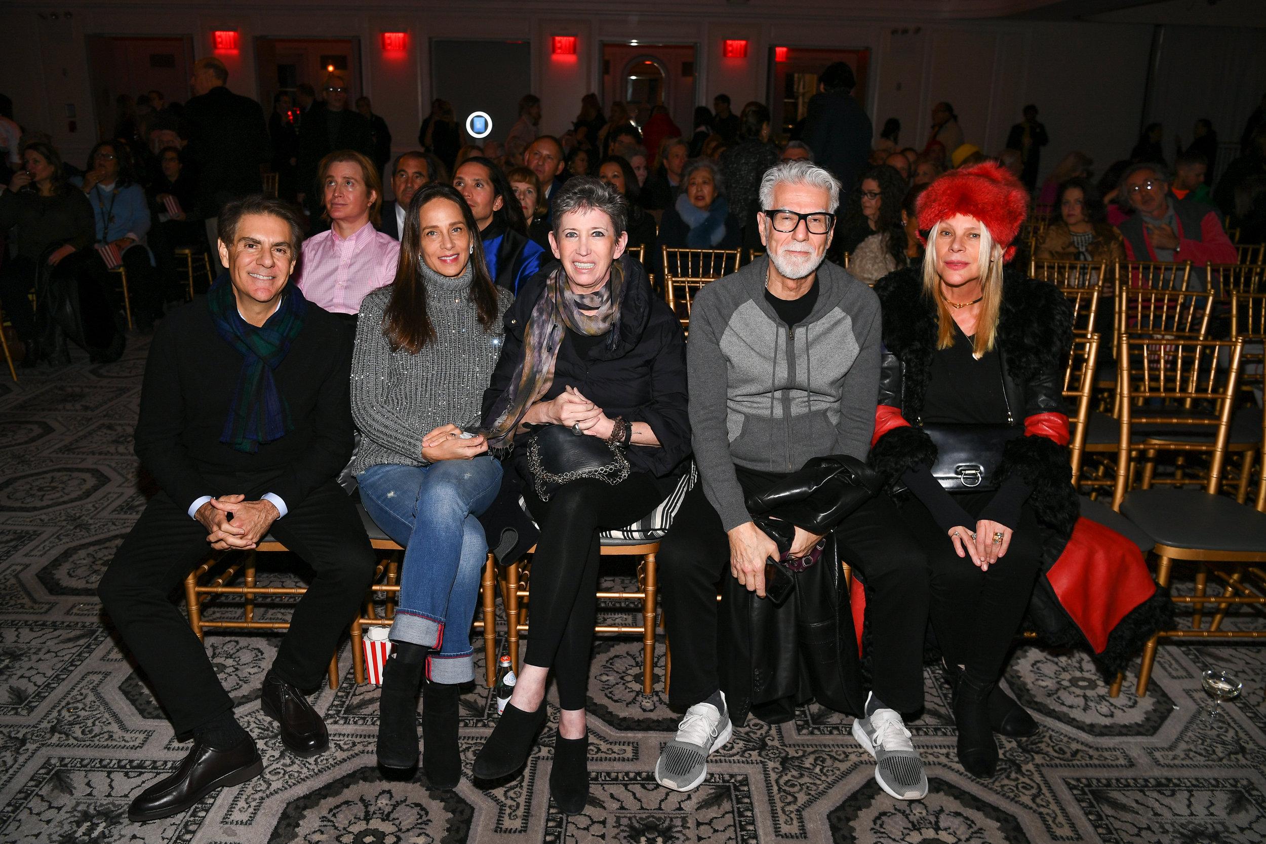 Richard Mishaan, Marcia Mishaan, Beth Rudin DeWoody, Firooz Zahedi, Guest © Getty Image
