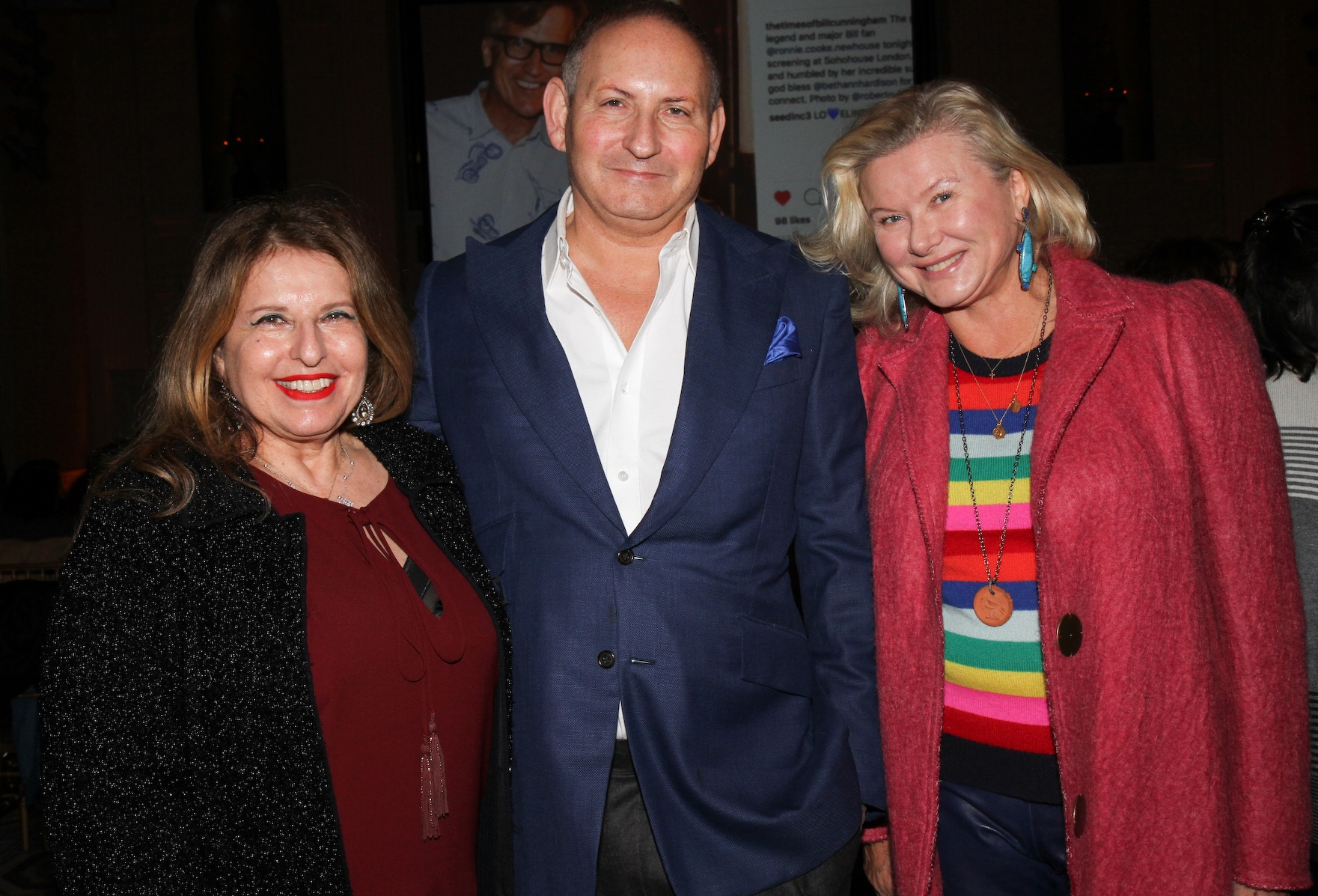 Marilyn Gauthier, John Demsey, Liliana Cavendish © Cutty McGill