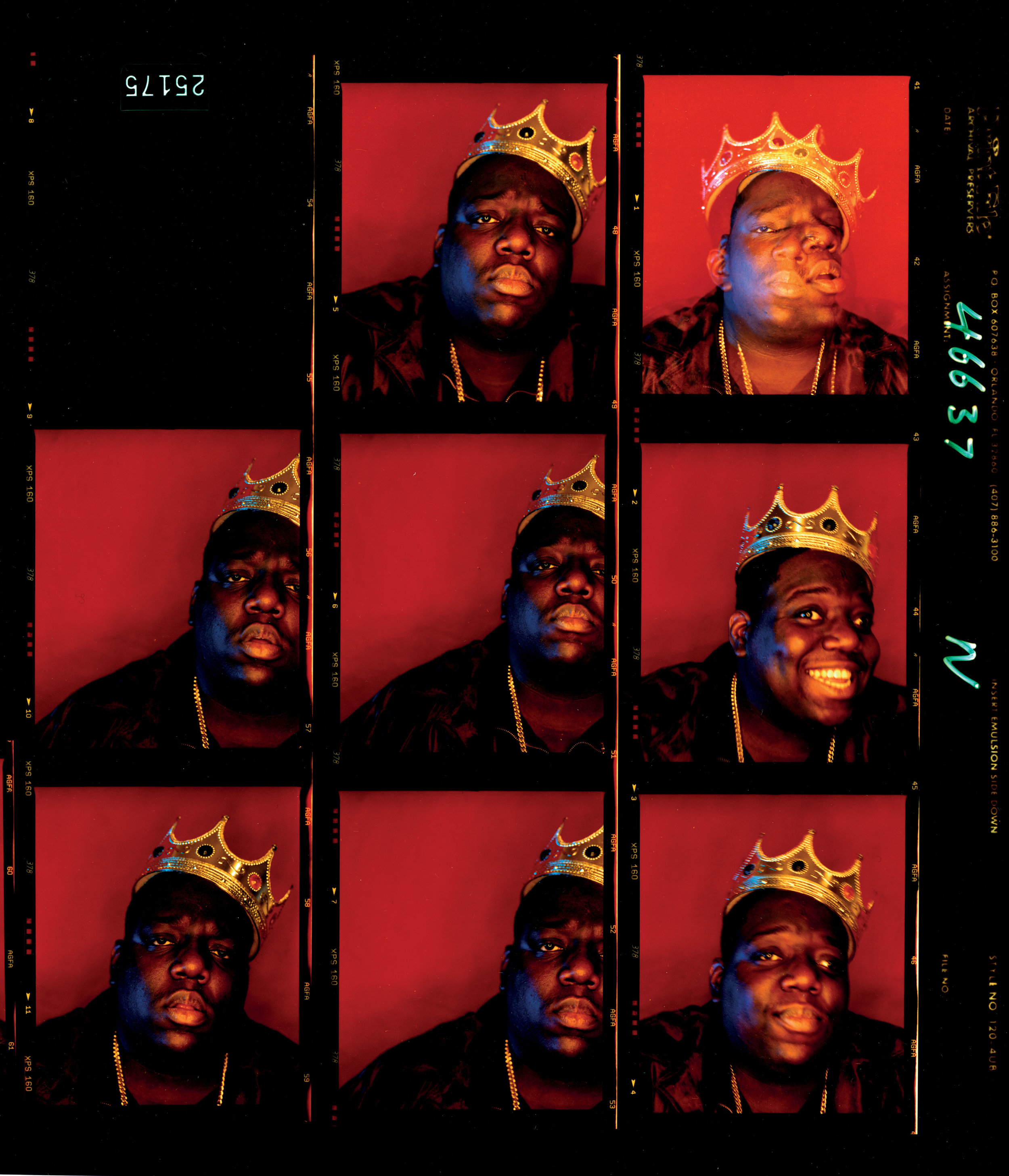 "Biggie Smalls, ""King of New York"", Wall Street, New York, 1997 © Barron Clairborne"