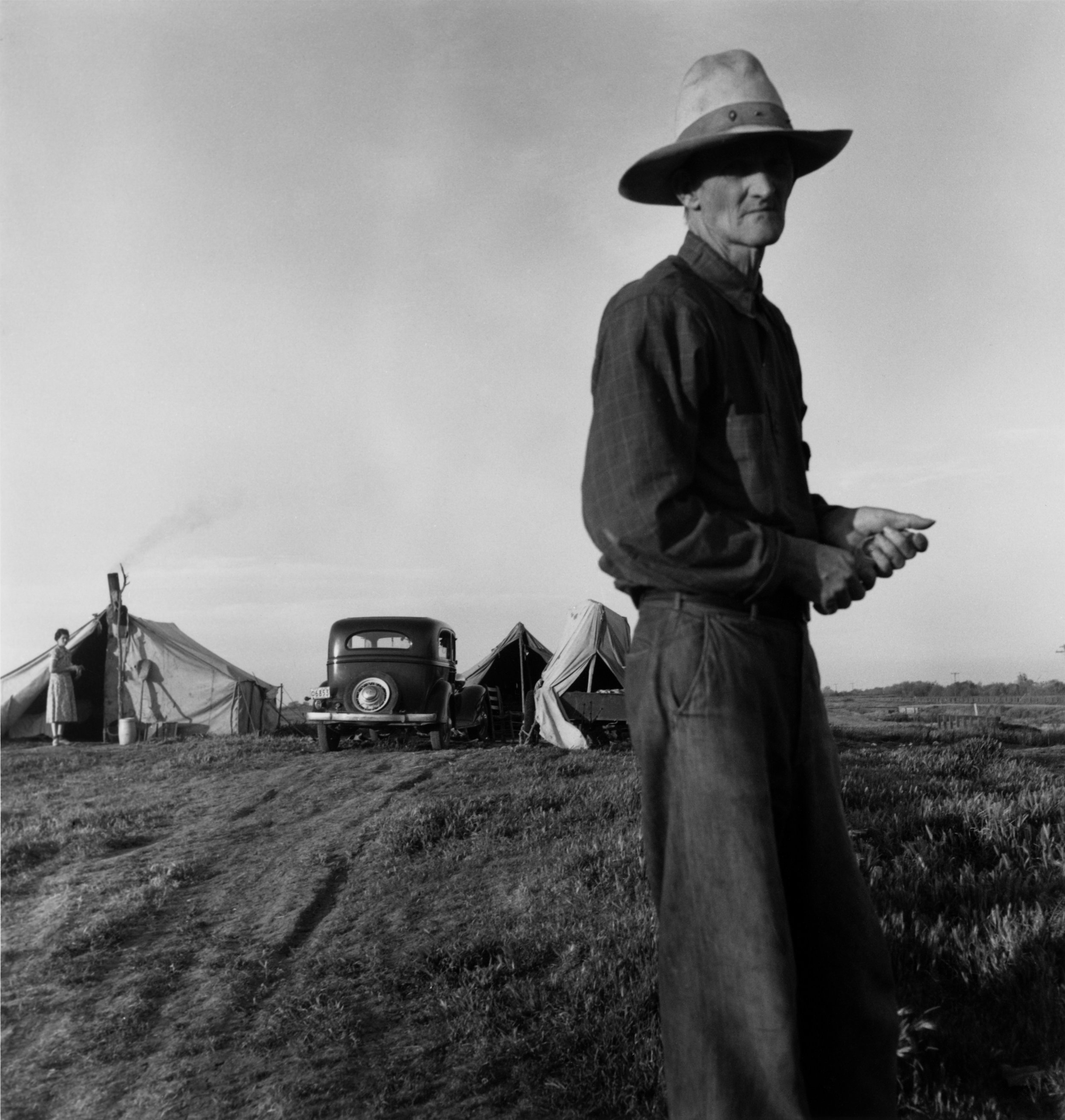 Drought Refugees, ca. 1935, the Oakland Museum of California. © Dorothea Lange