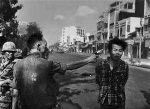 """Saigon Execution,"" 1968, by Eddie Adams. Adams (Eddie) Photographic Archive, DBCAH; di_05291. ©AP"