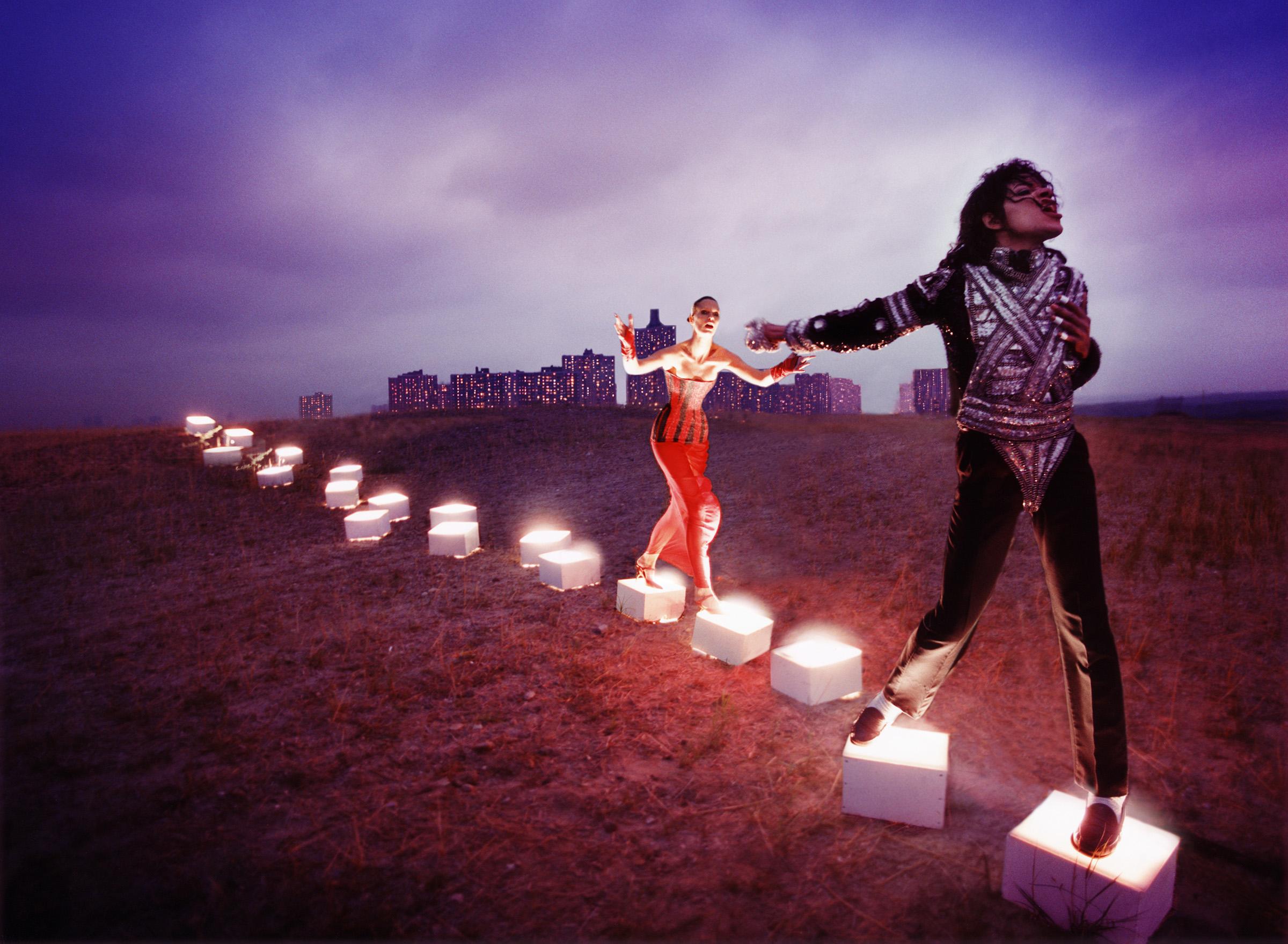 """Michael Jackson: An Illuminating Path, 1998"". David LaChapelle. © David LaChapelle / Courtesy Staley-Wise Gallery, New York"