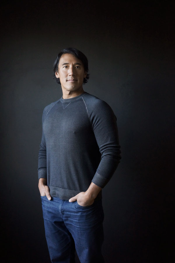 Portrait of co-director, Jimmy Chin. Photograph courtesy of Andrea Blanch.