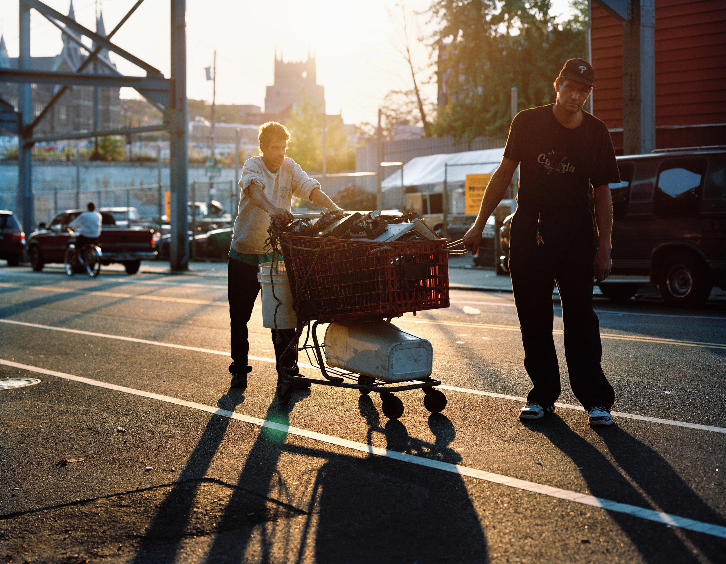 Scrappers. Kensington Ave. 2010. © Jeffrey Stockbridge