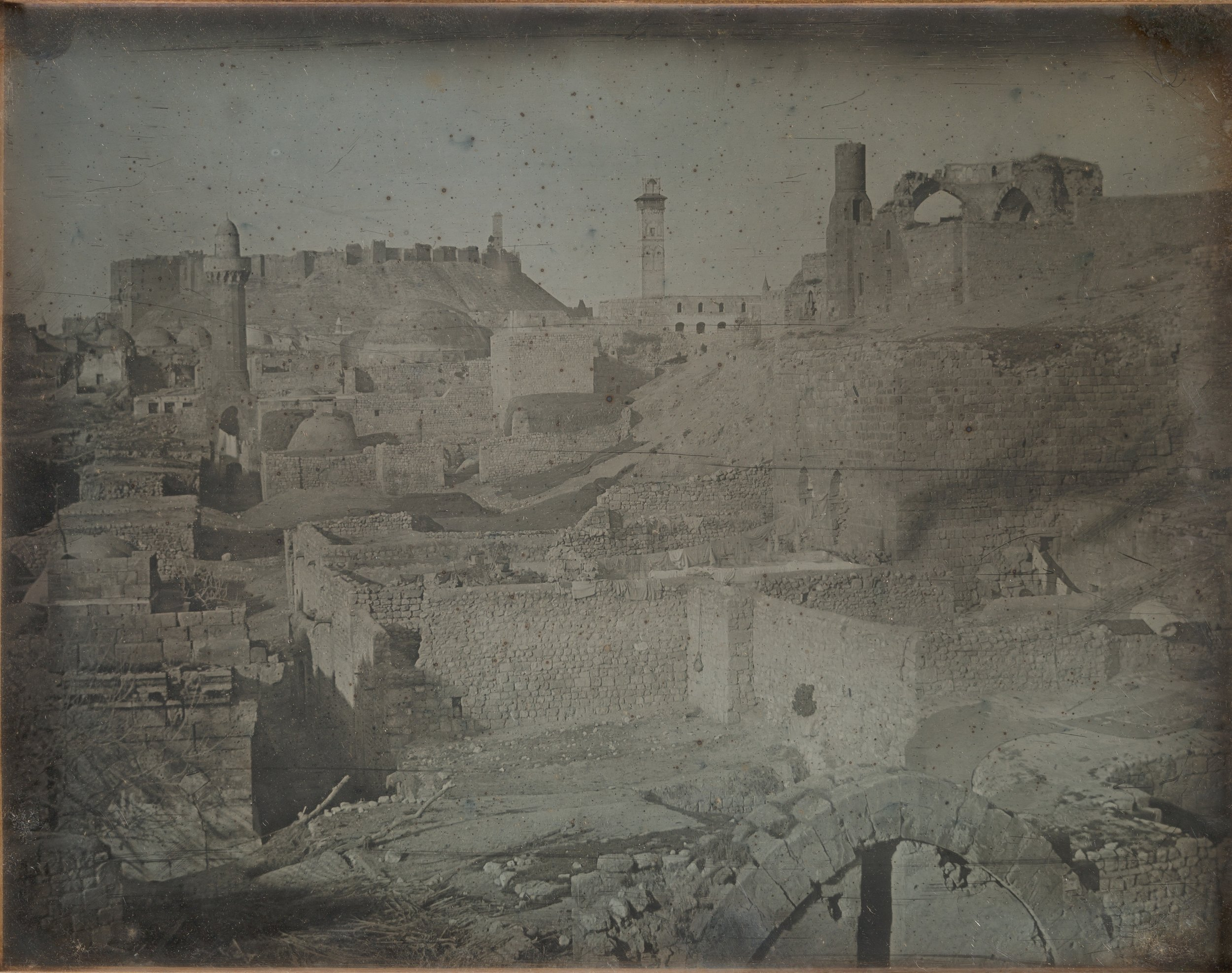 "Girault de Prangey, ""Aleppo, Viewed from the Antioch Gate 1844"""