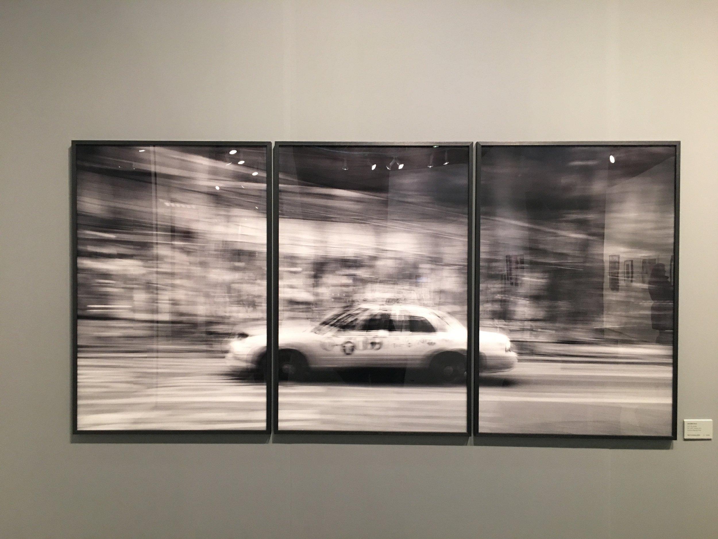 Photographer Jacob Gils, Movement Project, Leica Gallery, LA  PhotoLA, Sunday, February 3, Barker Hangar Photo by Christine La Monte