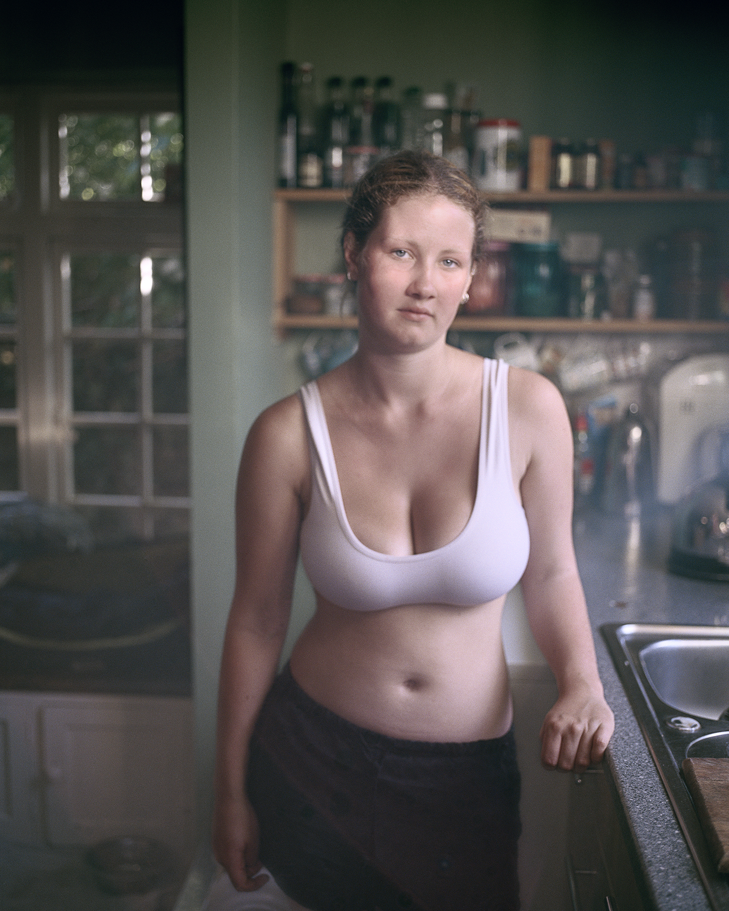Martha in the morning © Siân Davey
