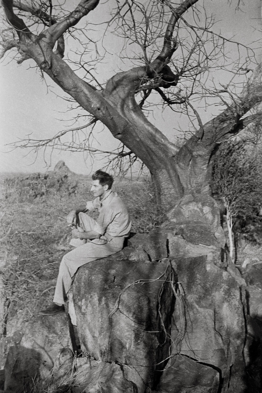George Rodger in Kordofan region, Southern Sudan, 1949. ©George Rodger, from  Southern Sudan . Published by Stanley/Barker.