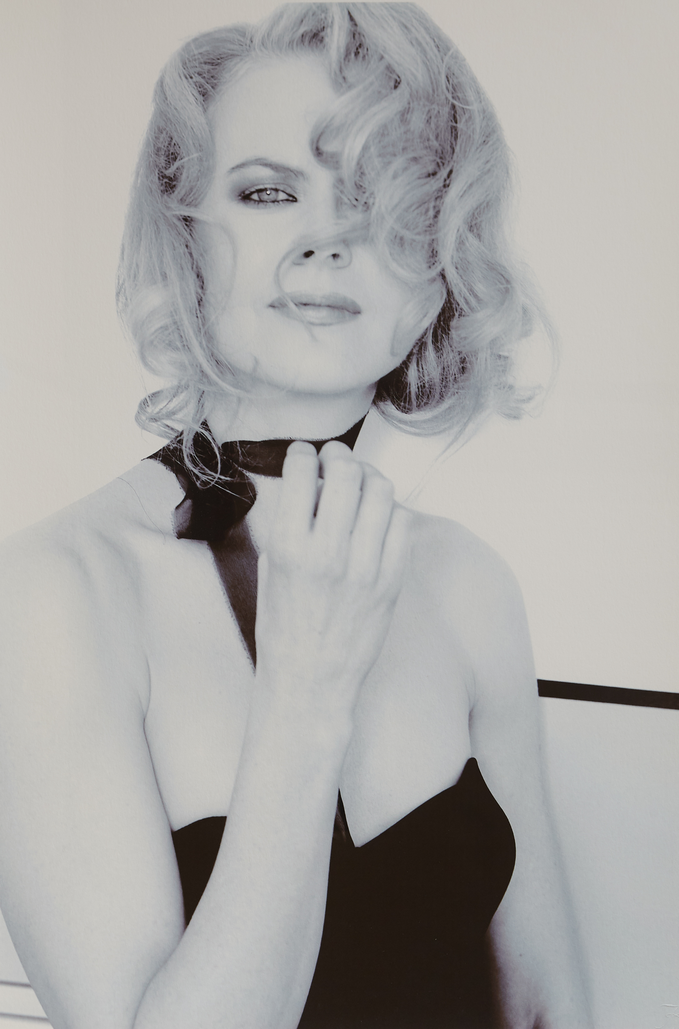 Karl Lagerfeld.  Nicole Kidman (Hollywood Stars),  2002. B/W photography printed on Lyson paper. 23 3/8 x 16 1/2 inches. 59.5 x 42cm.