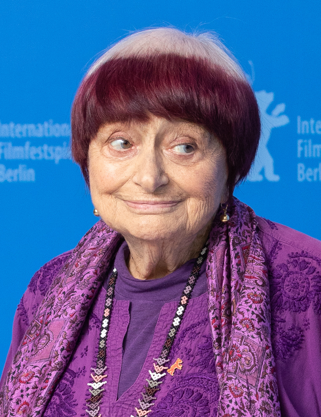 Varda at the Berlinale, February 2019. Courtesy of Wikipedia