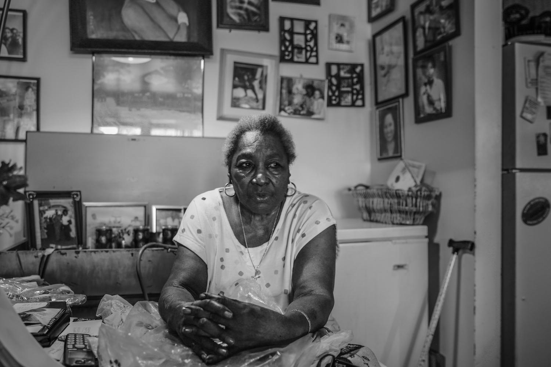 Lottie the Body, 89. Former burlesque dancer and legend. © Janice Milhem