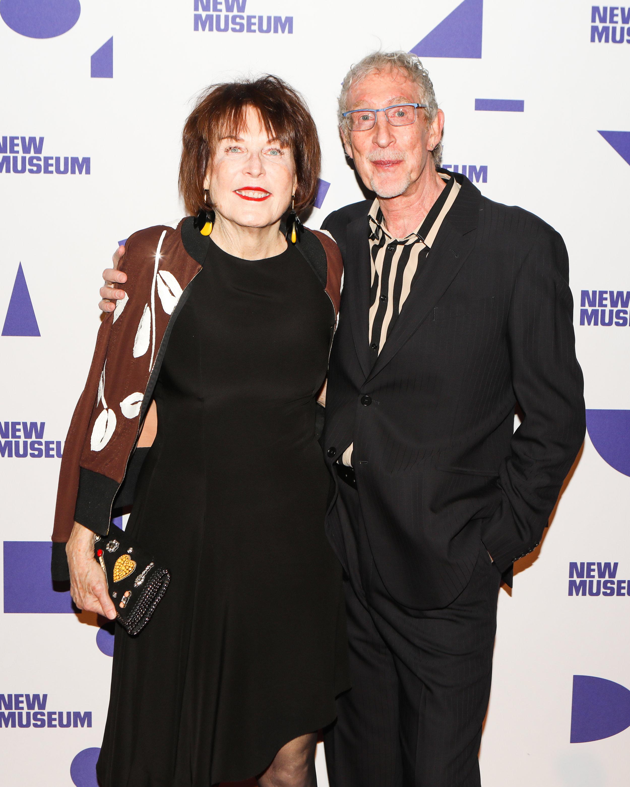 Marilyn Minter and Bill Miller