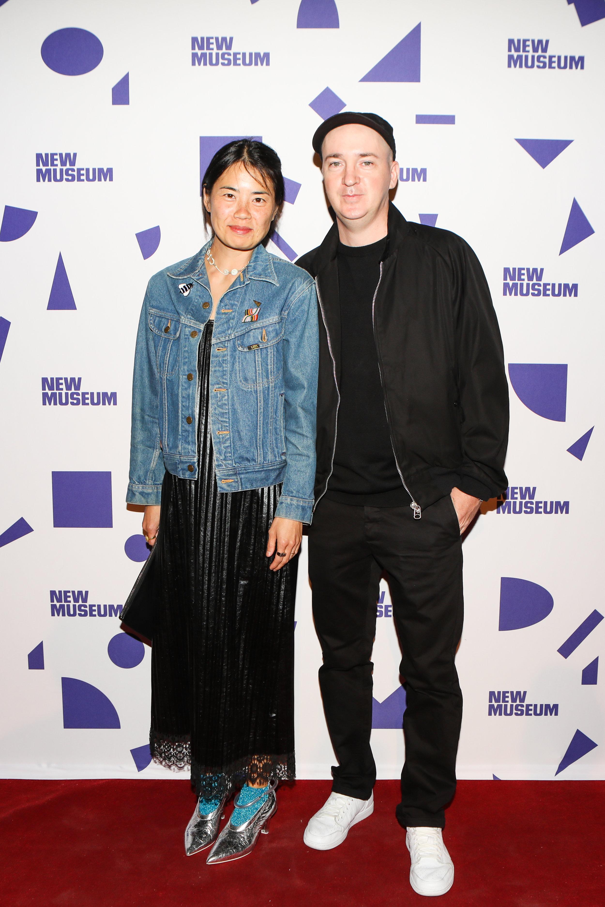 Julia Chiang and KAWS