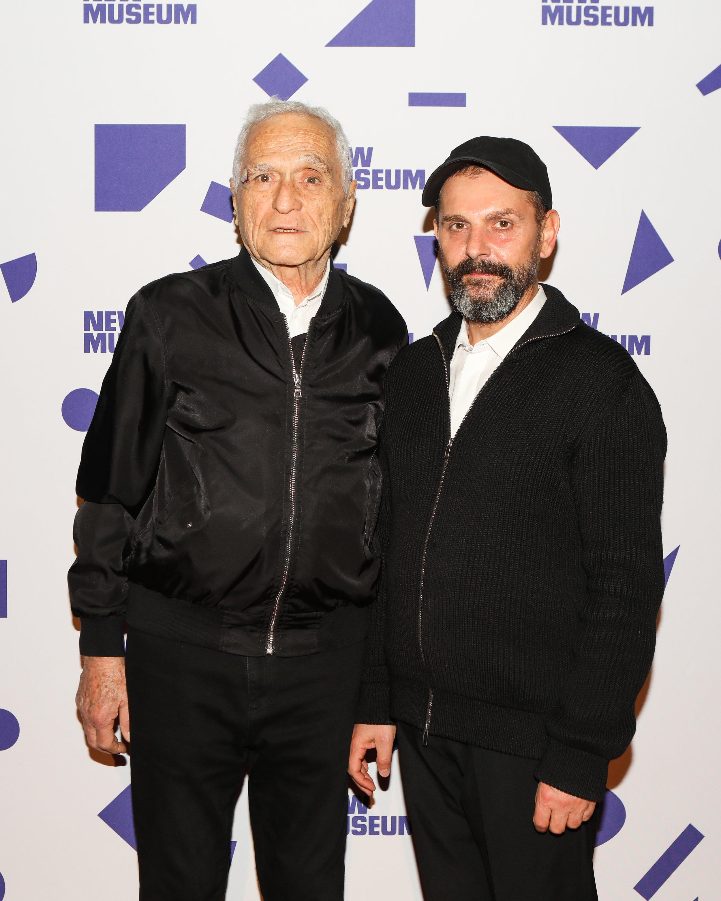 John Giorno and Ugo Rondinone