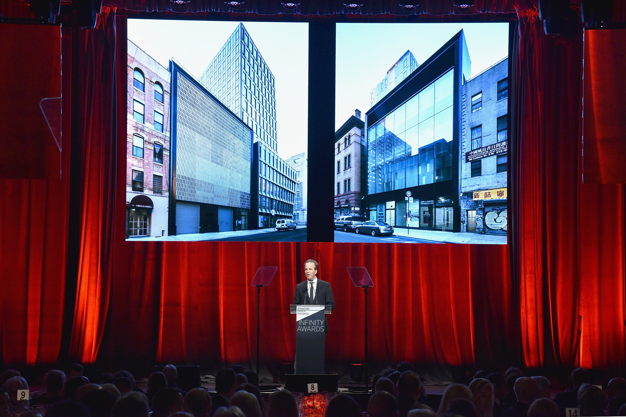 NEW YORK, NY - APRIL 02: ICP Executive Director Mark Lubell speaks onstage during The International Center Of Photography's 35th Annual Infinity Awards at The Ziegfeld Ballroom on April 2, 2019 in New York City. (Photo by Bryan Bedder/Getty Images for International Center of Photography)