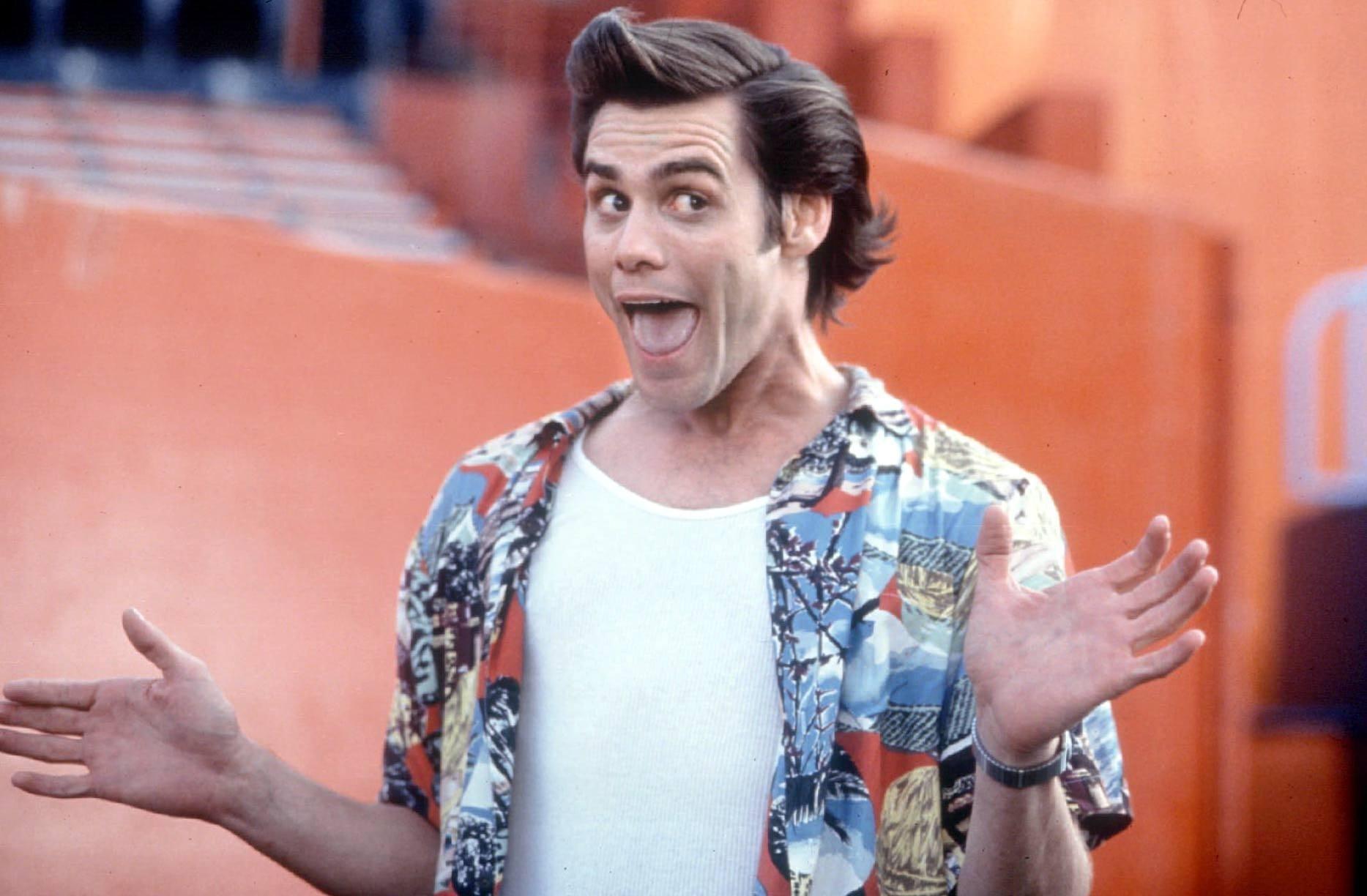 Jim Carrey in  Ace Ventura