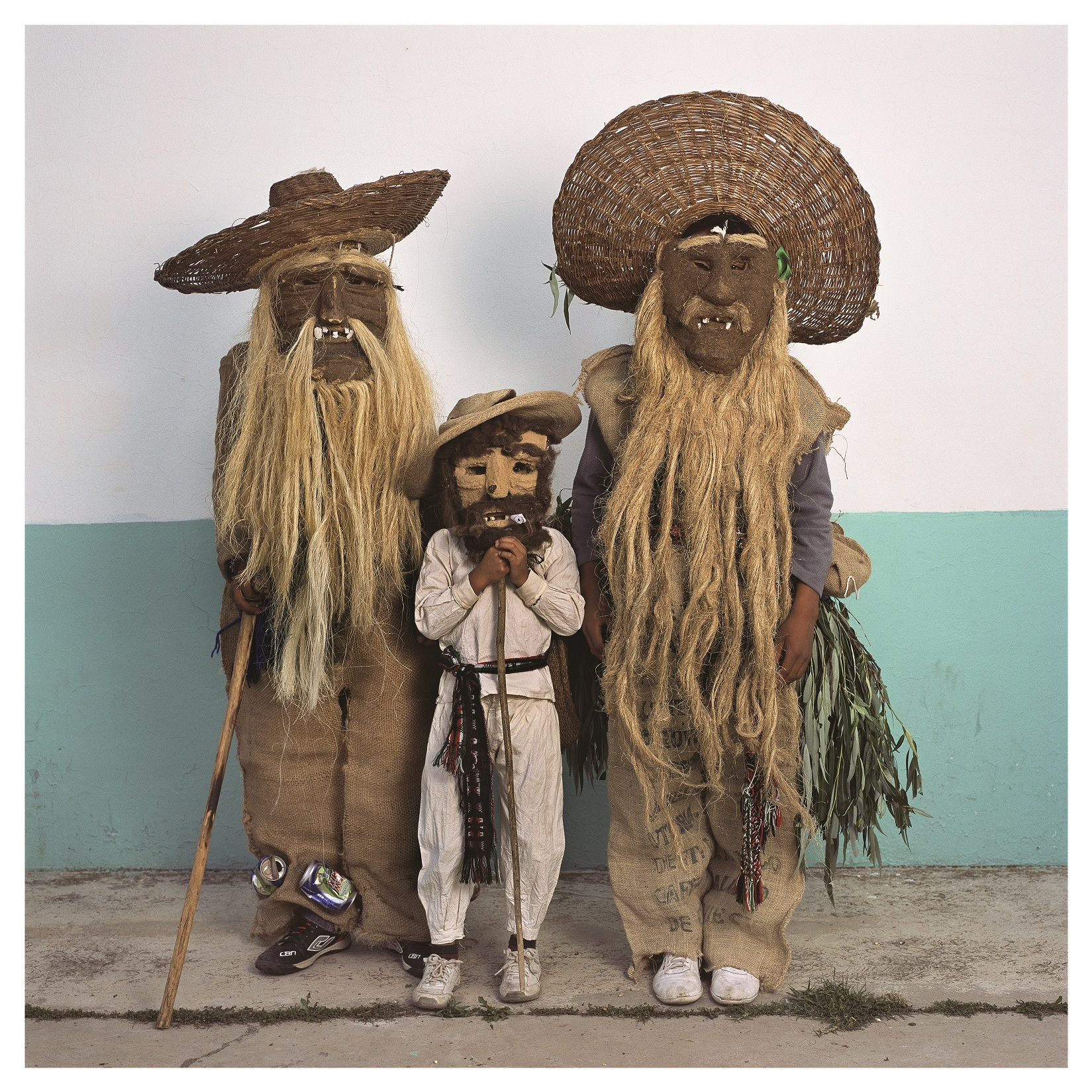 © Phyllis Galembo, Family in Maguey Masks 2016