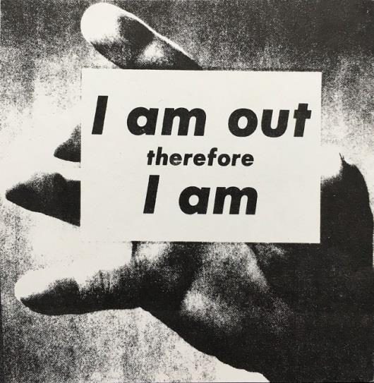© Adam Rolston,  I Am Out Therefore I Am, 1989