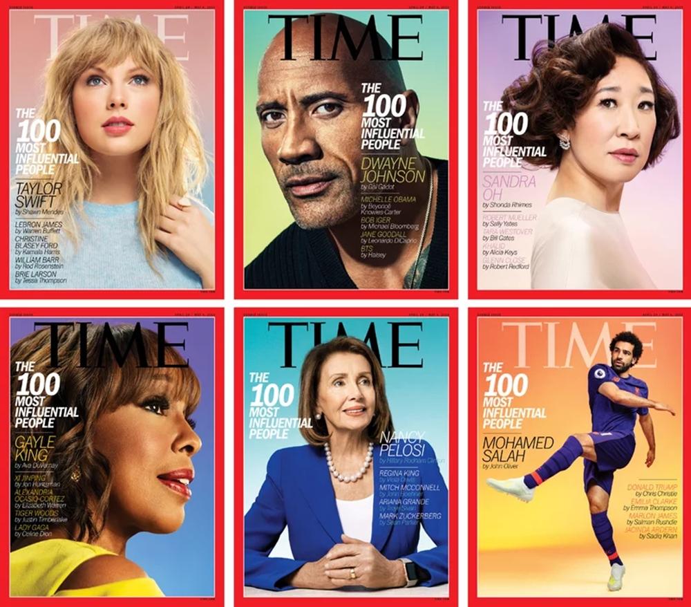 TIME 100 List, 2019. Courtesy of ArtNet