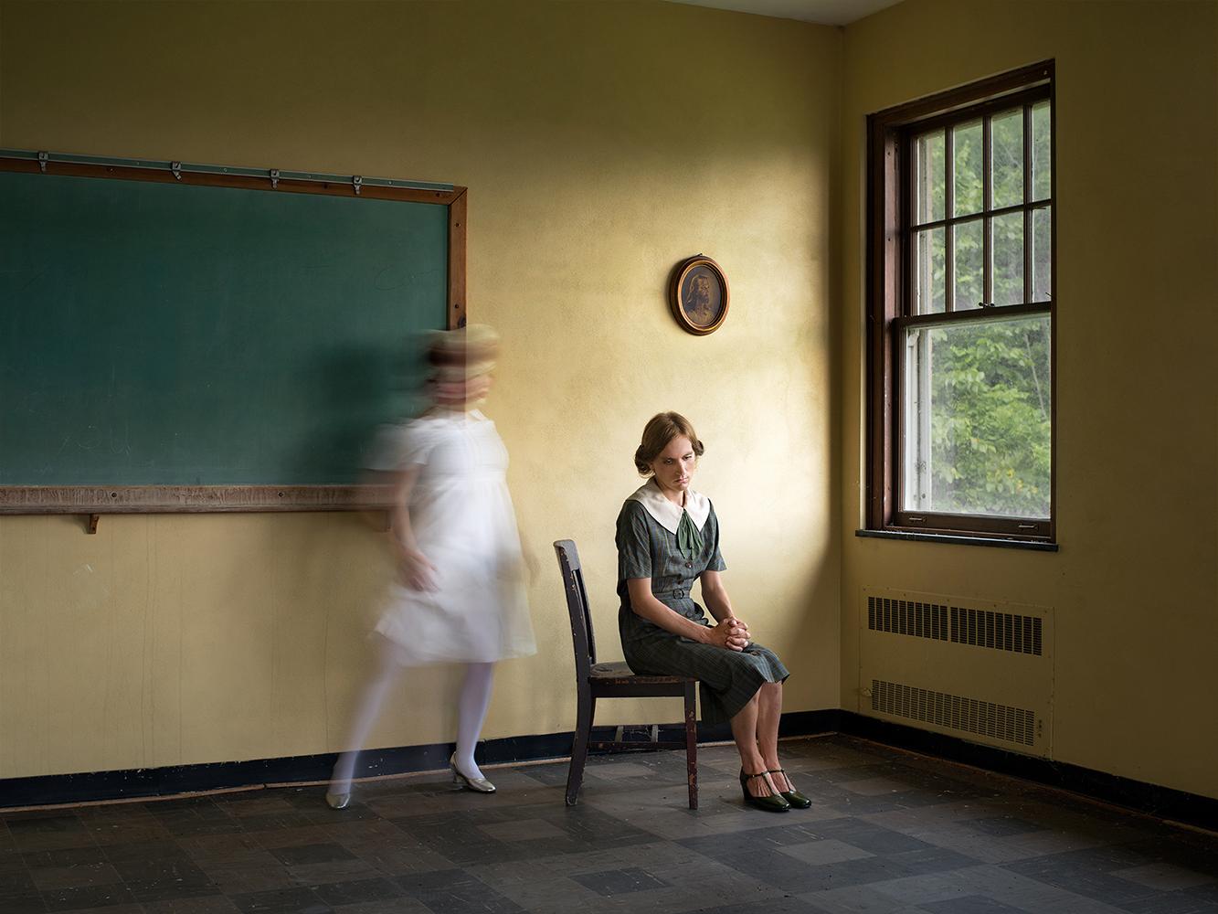 Yellow Classroom (Desire)  Courtesy of ClampArt, New York © Lissa Rivera