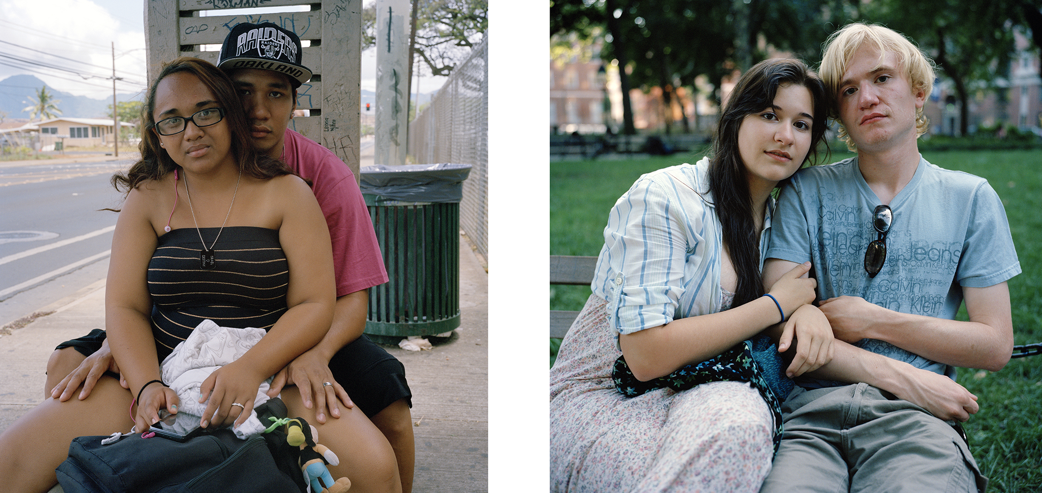 O'ahu Young, No. 16, New York Young, No. 43 © Amy Touchette/ClampArt