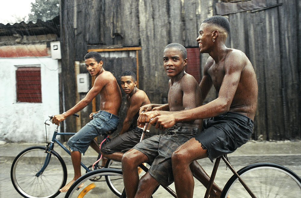 "© Hilary Duffy, ""Bike Boys.""  Hope & Dreams from Cuba  by Hilary Duffy"