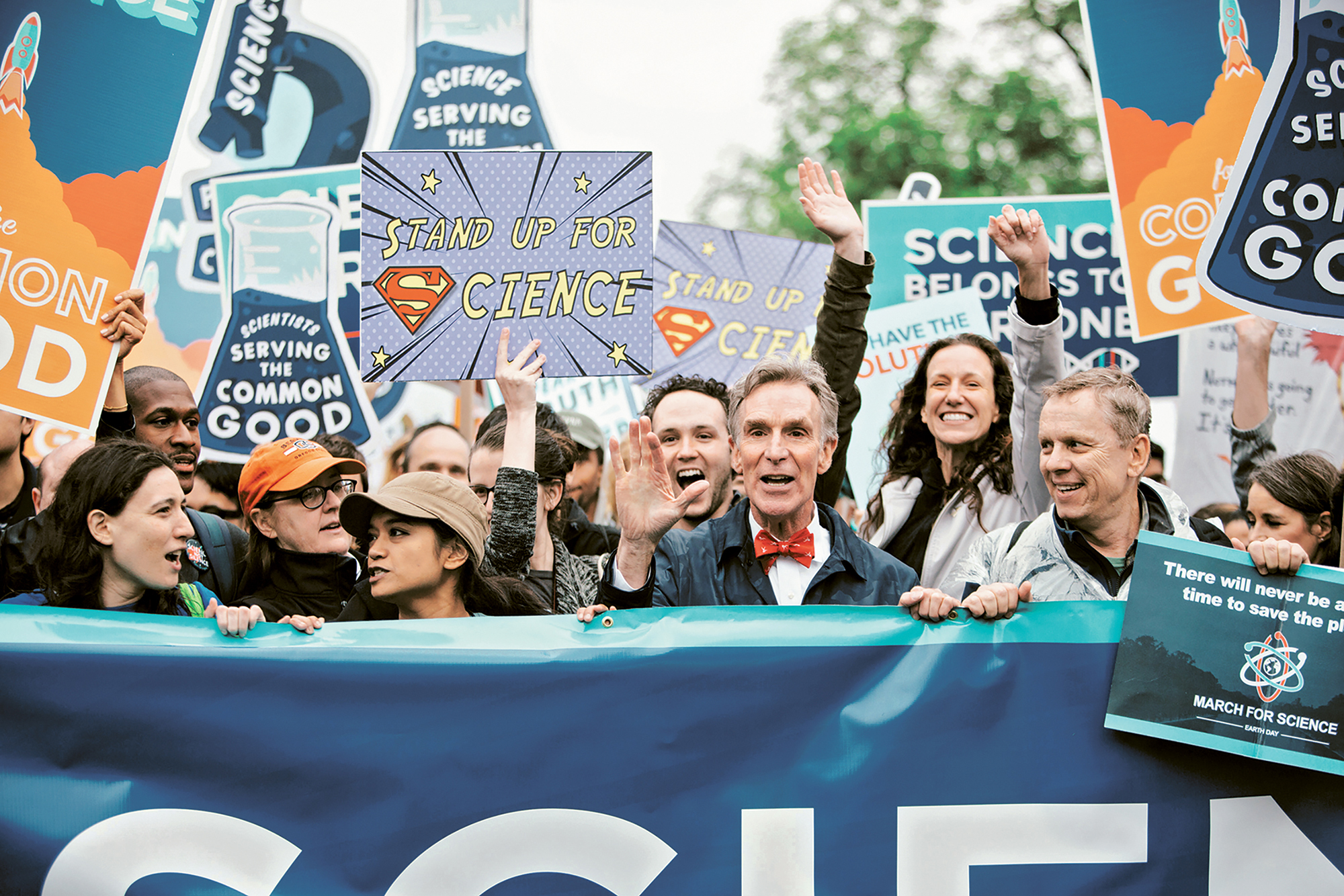 Molly Adams, March for Science, Washington, DC, 2017; from  Seeing Science  (Aperture and UMBC, 2019)