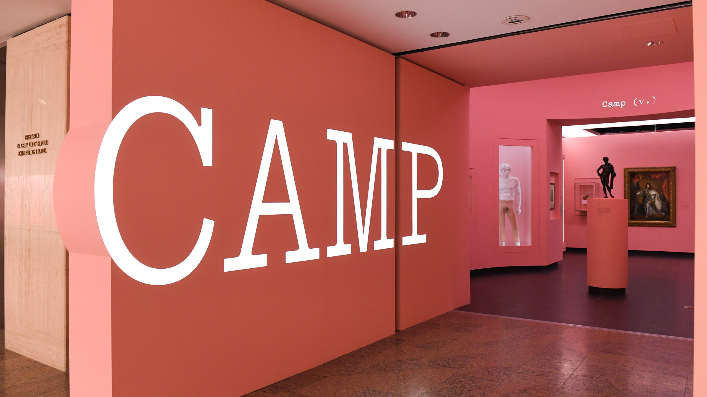 """Costume Institute's """"Camp: Notes on Fashion"""" exhibition. Courtesy of the Metropolitan Museum of Art, BFA.com/Zach Hilty"""