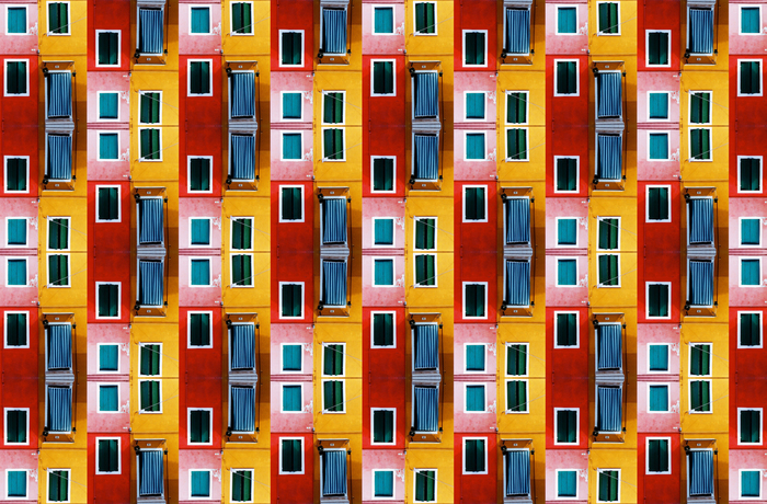 "Janice Gewitz, ""In Burano"". Courtesy of Site: Brooklyn Gallery."