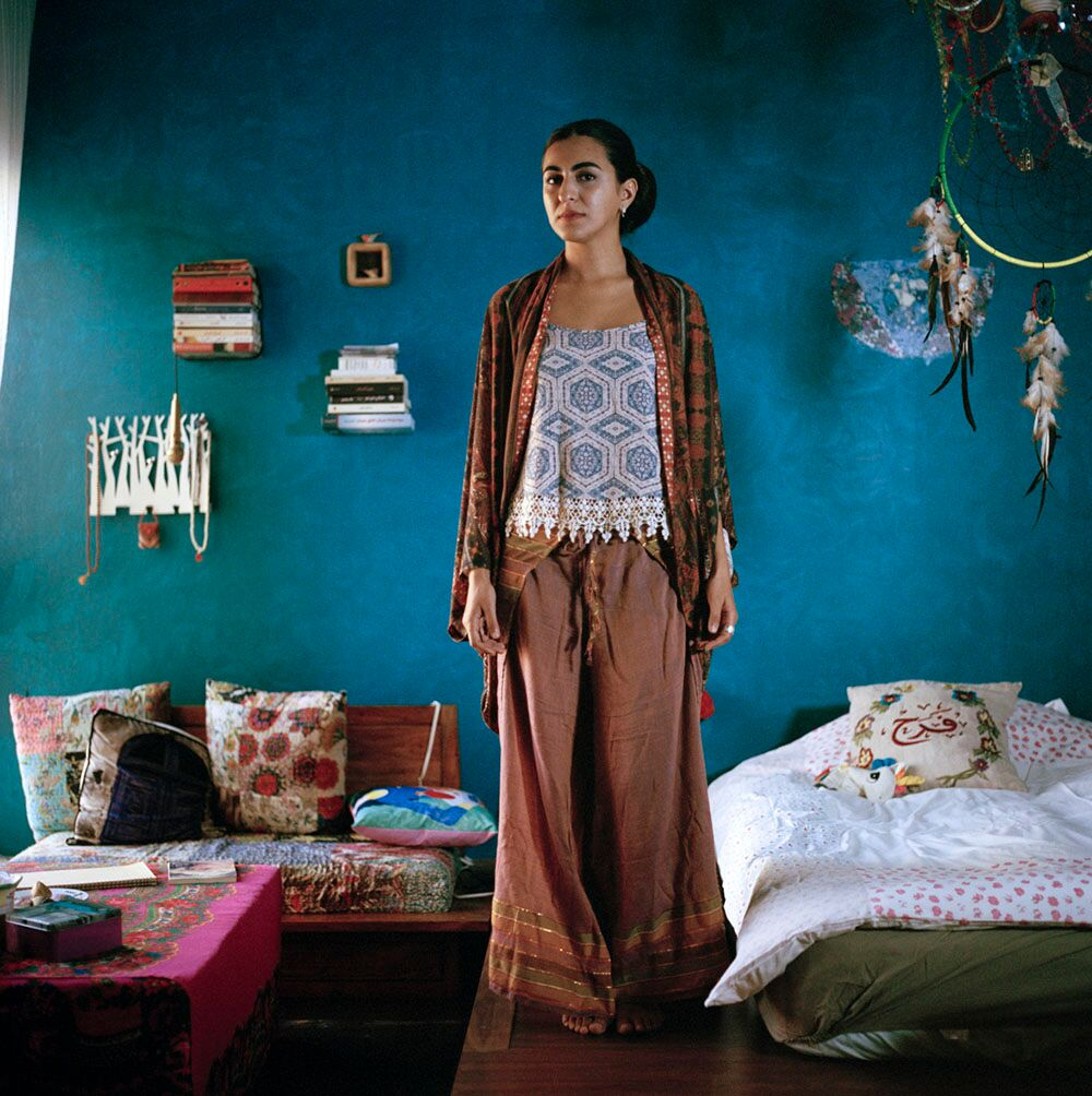 FARRAH KHAJA  Mirror © Maha Alasaker from the book  Women of Kuwait  by Maha Alasaker & Nada Faris published by Daylight Books (May 2019)