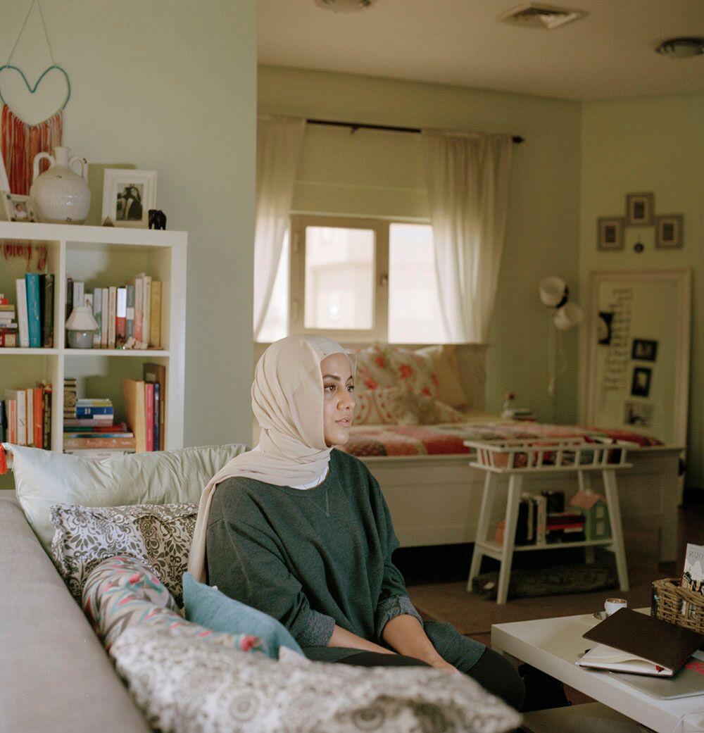 FATIMAH ALYAKOOB  Soul © Maha Alasaker from the book  Women of Kuwait  by Maha Alasaker & Nada Faris published by Daylight Books (May 2019)