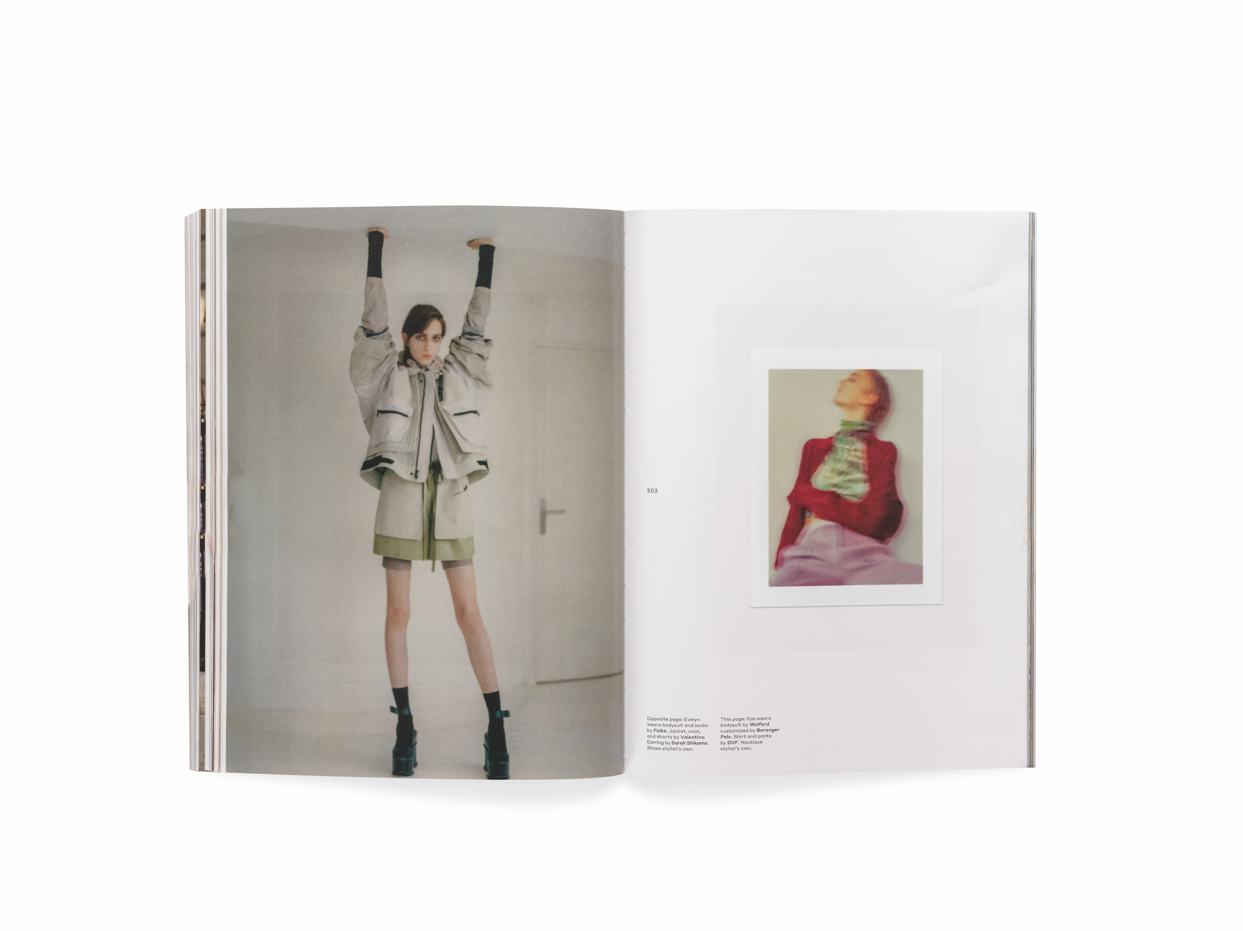 Document , Spring/Summer 2018, Sam Rock. Collection Vince Aletti (page 452, bottom)