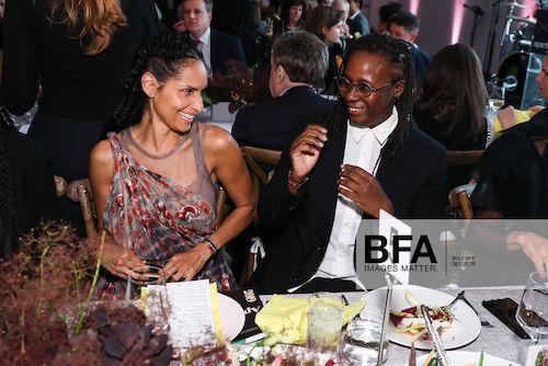 Racquel Chevremont and Mickalene Thomas. Aperture Foundation 2019 Muse Gala. Sansho Scott/BFA.com. ©BFA 2019