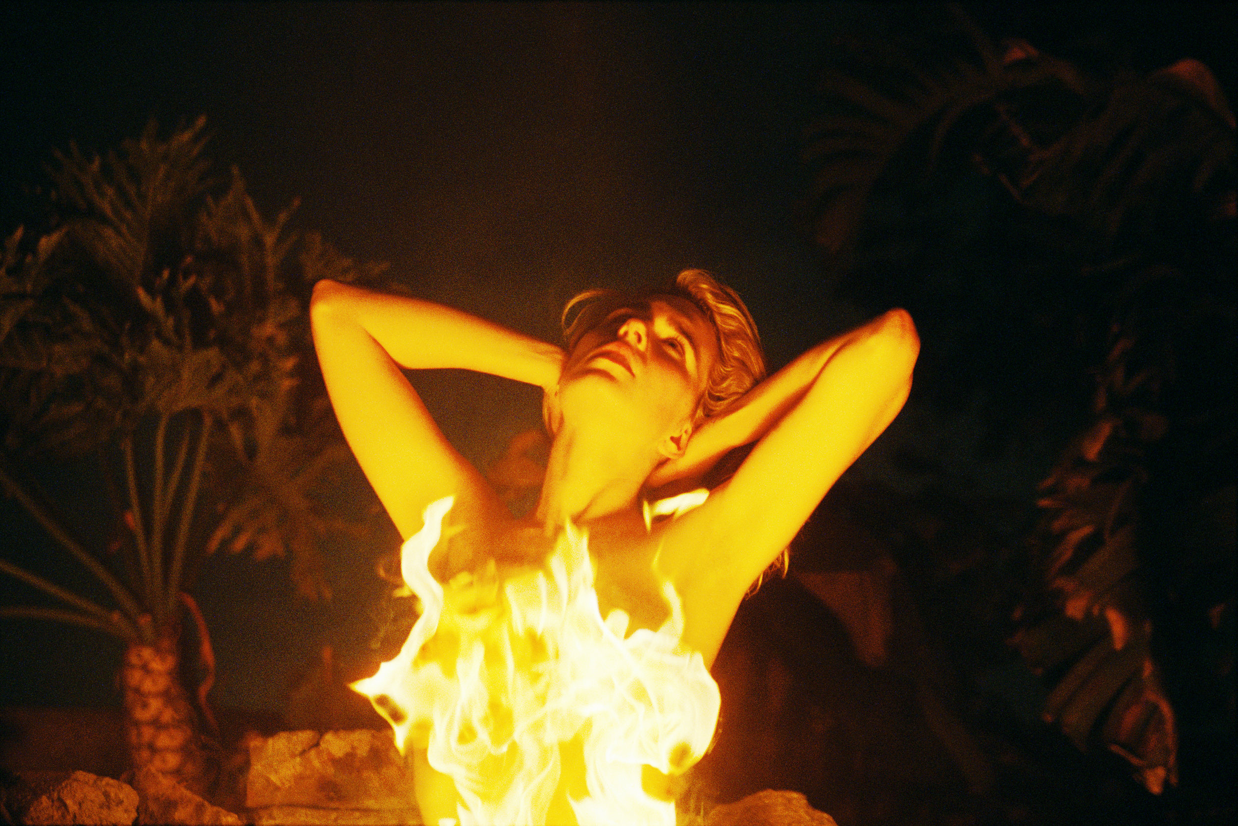 Flames from LA Nudes series 2013 © Logan White