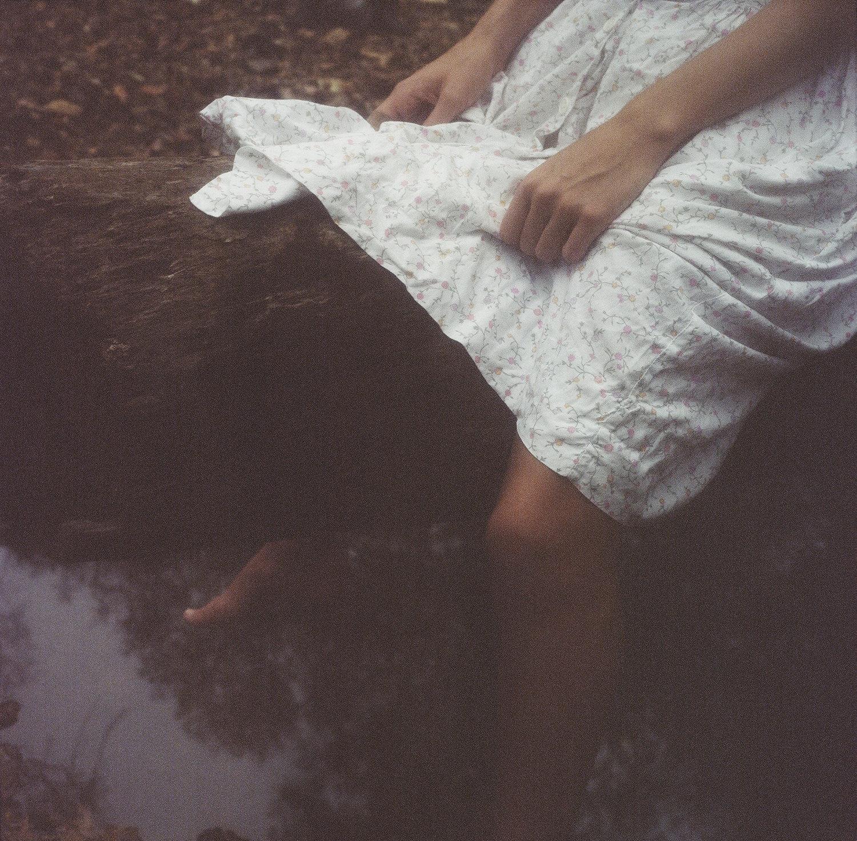 Mary Katherine in the Wesleyan Woods 2010 © Logan White