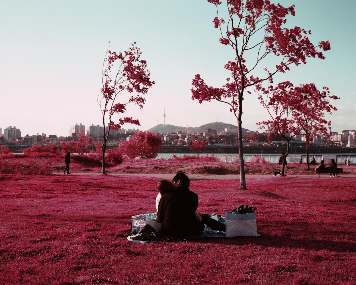 Han River. Seoul, South Korea © An Rong Xu