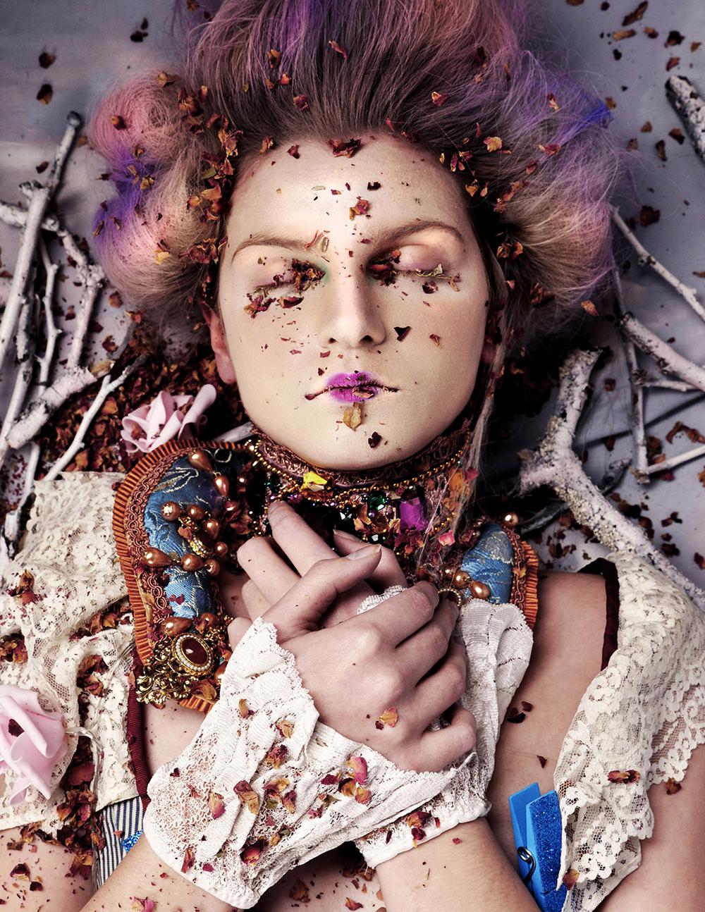 Her Bones are Made of Roses © Jasmine De Silva