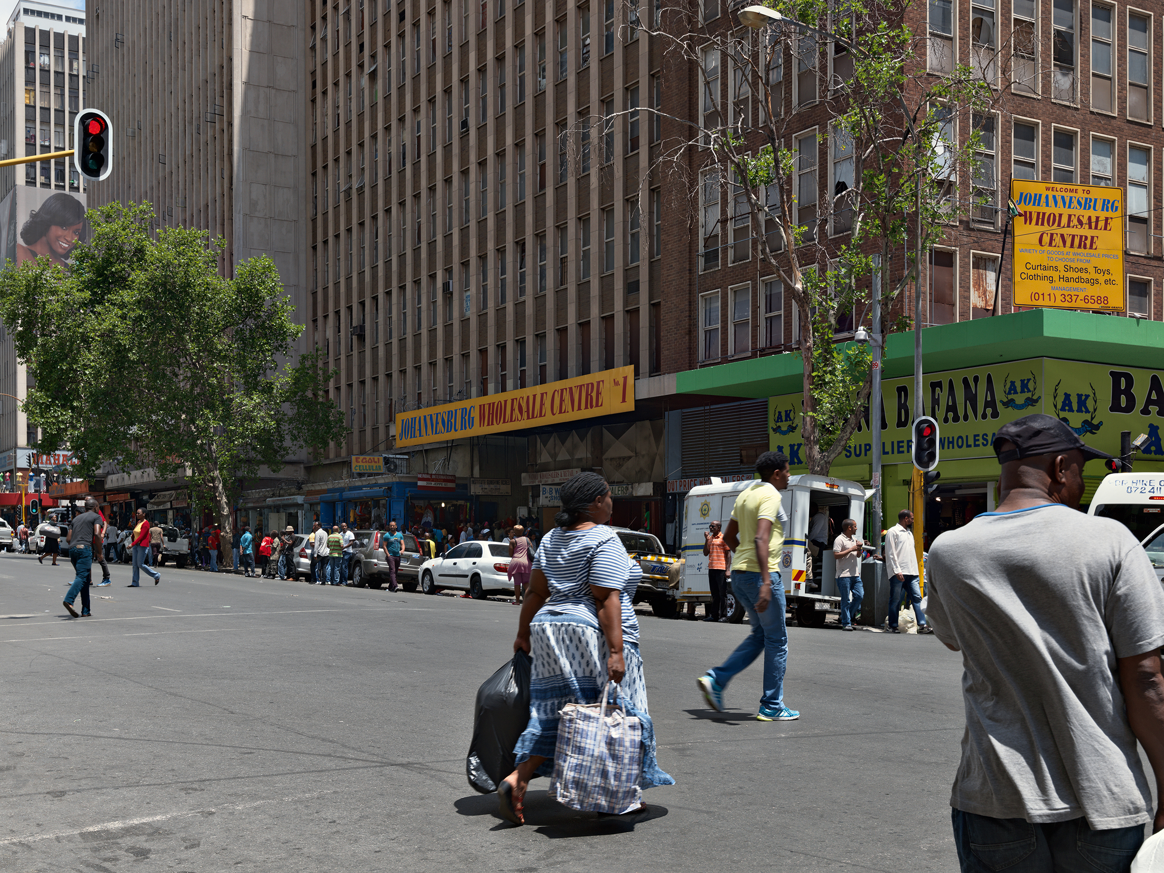 "Guy Tillim, ""Jeppe Street, Johannesburg, South Africa, 2014"" in  Museum of the Revolution ( MACK, 2019). Courtesy of the artist and MACK."