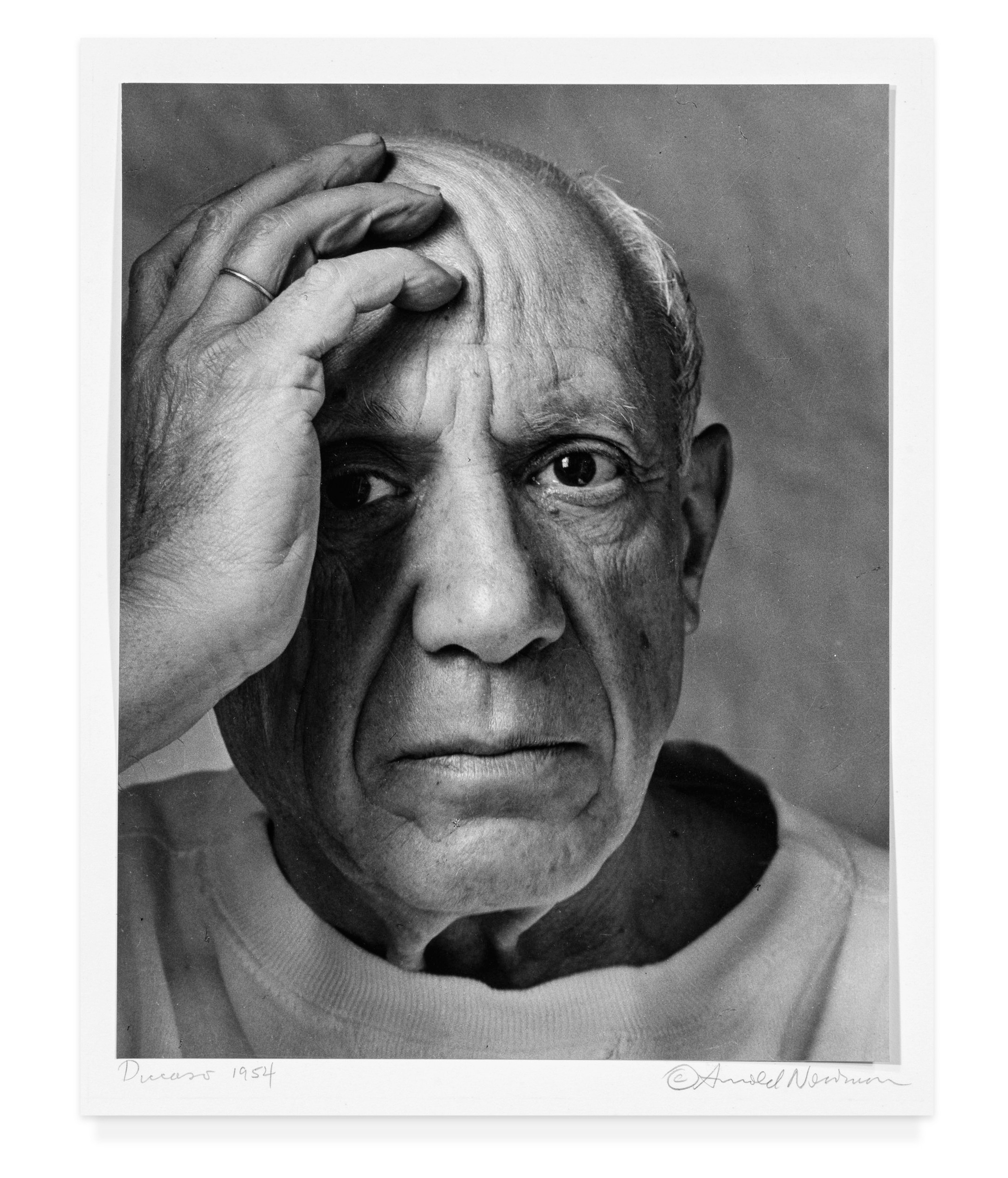 """Pablo Picasso from """"Seeing Arnold Newman"""" published by Radius Books © 2018"""