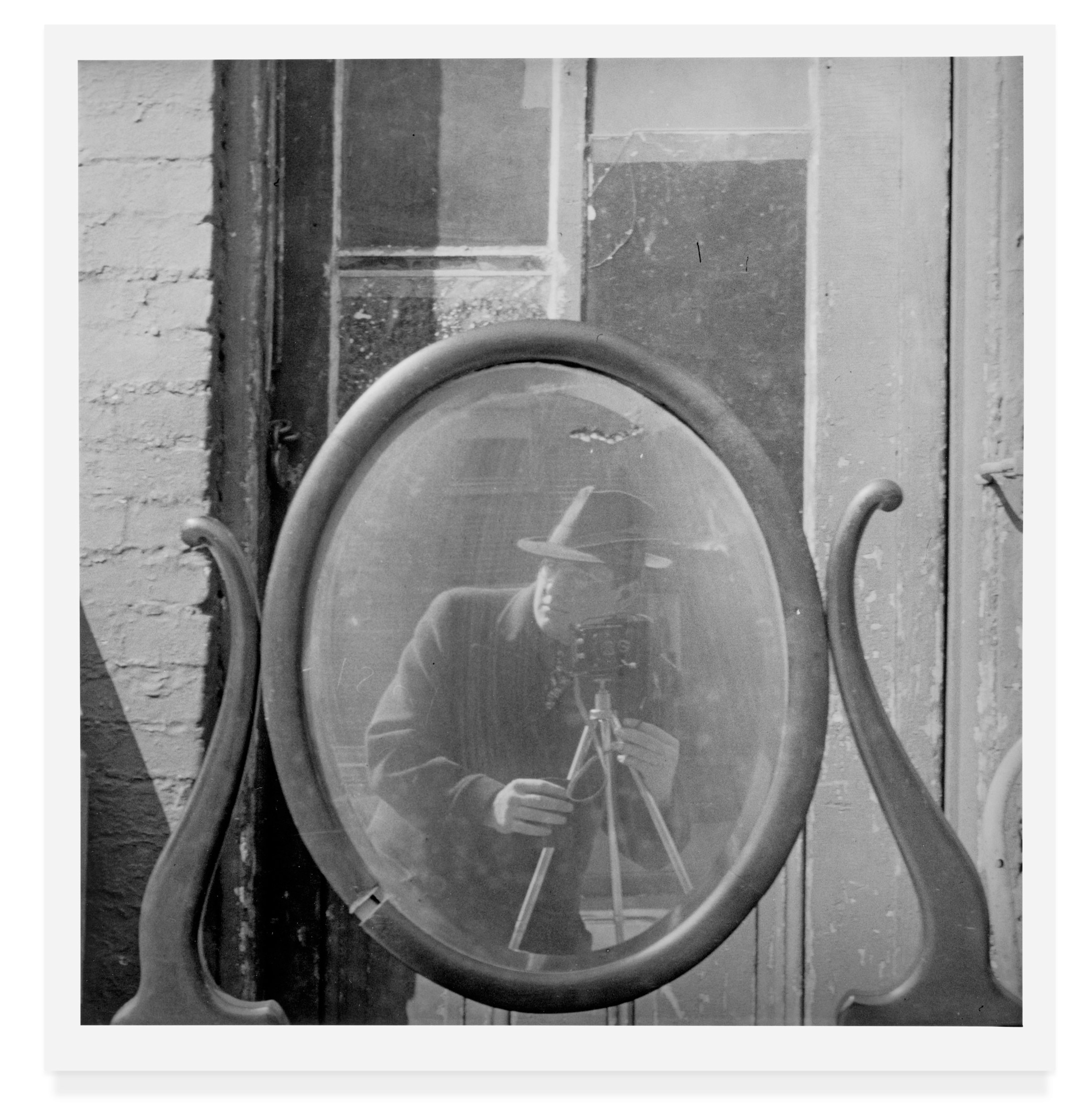 """Self Portrait from """"Seeing Arnold Newman"""" published by Radius Books © 2018"""