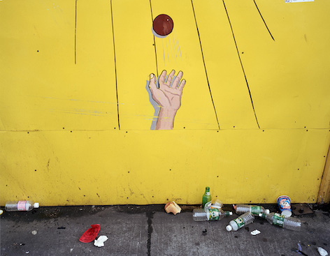 "Lisa Kerezsi, ""Ball Toss, Coney Island"", 2001. Archival Pigment Print. Courtesy of the artist and Yancey Richardson."