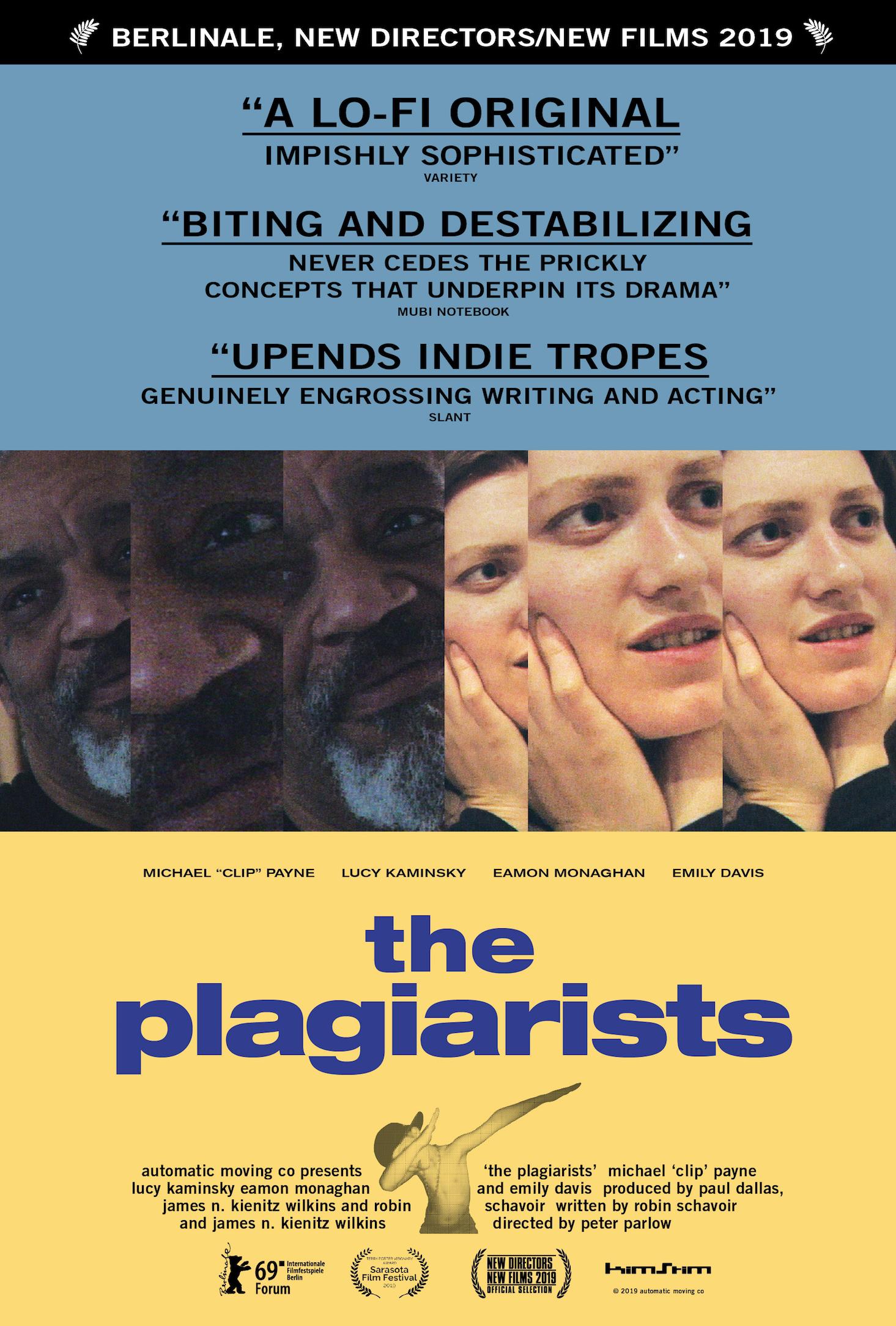 """The Plagiarists.""CreditCreditAutomatic Moving Co./KimStim"