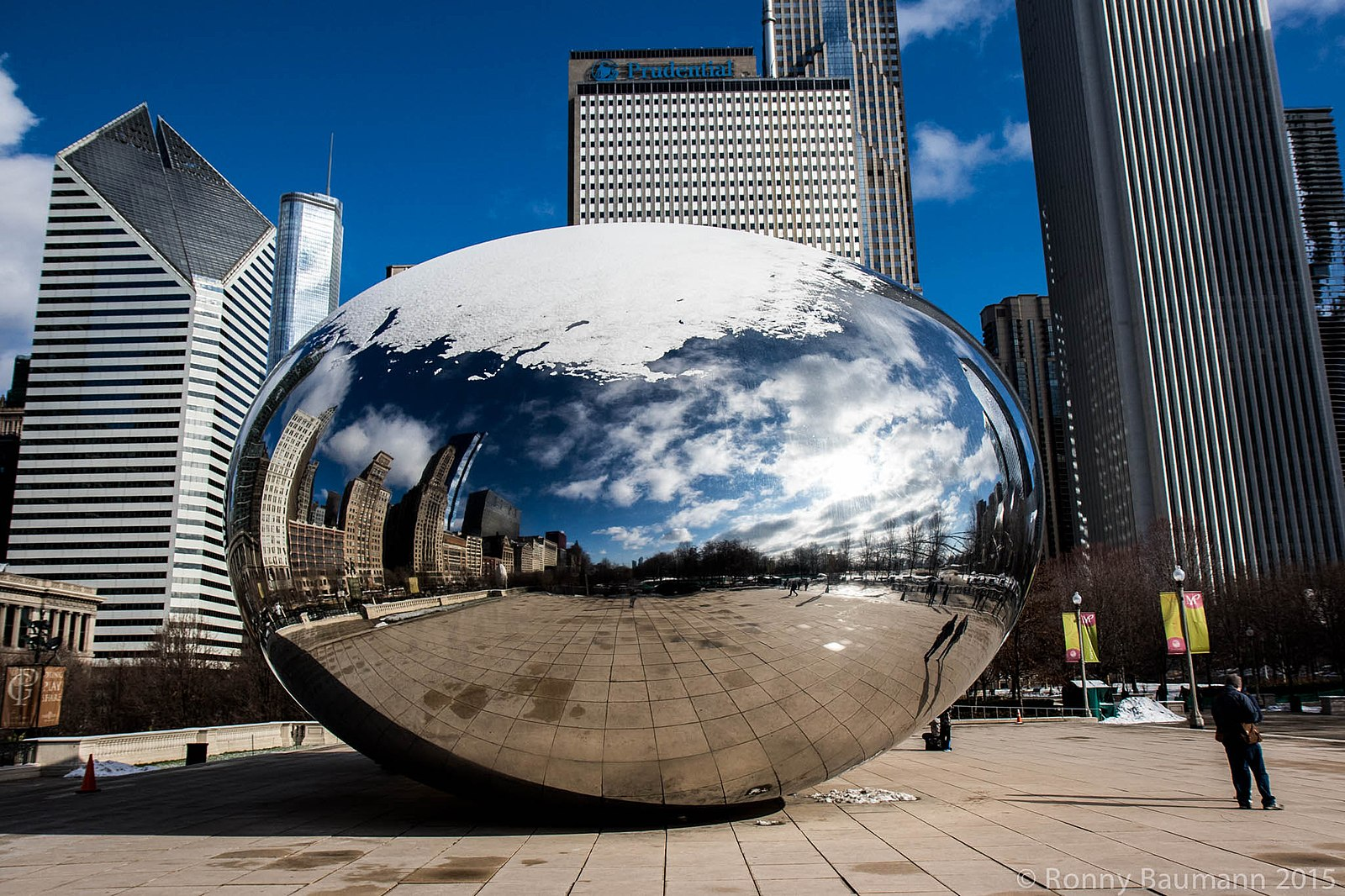 Chicago Bean. Courtesy Wikimedia Commons.
