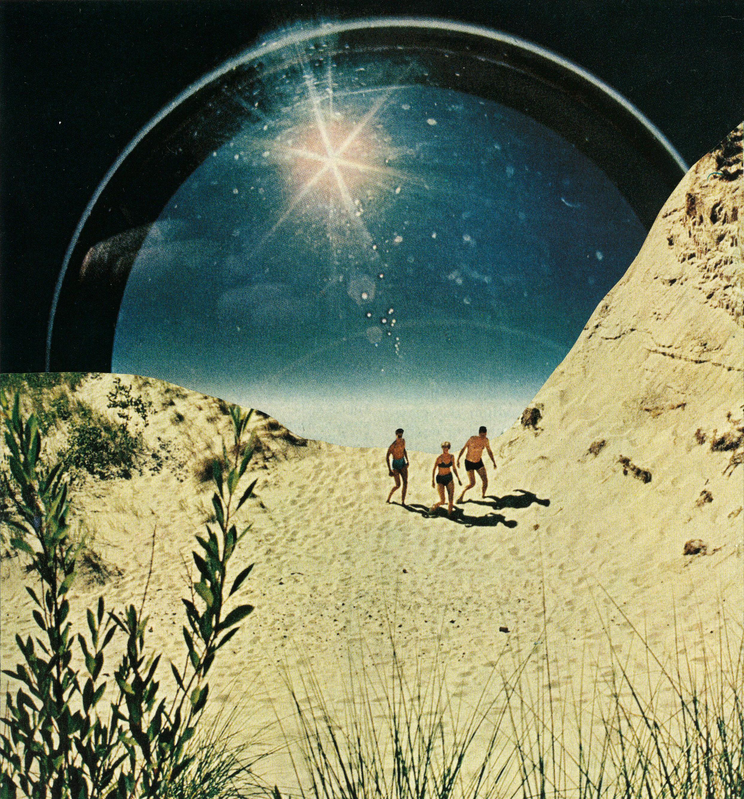 Beach Daze , Courtesy of Jesse Treece
