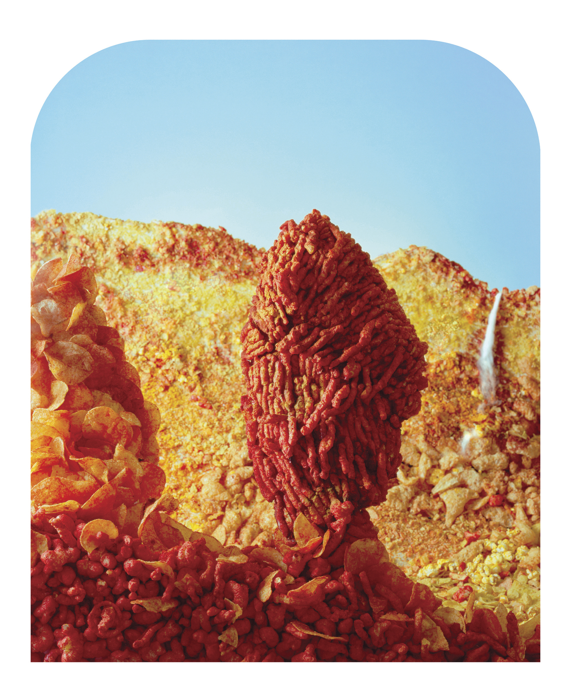 Flamin Hot Monolith © Barbara Ciurej & Lindsay Lochman