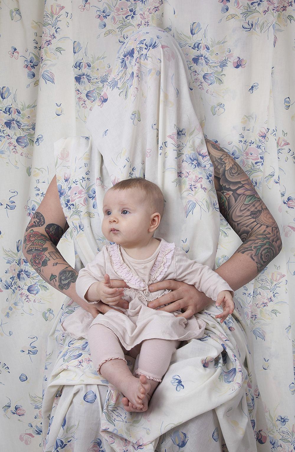 Hidden Mothers: Lisa E , Archival Pigment Print, 2018 © Megan Jacobs