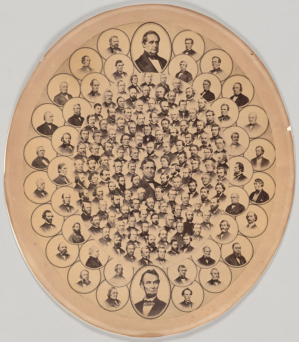 Powell & Co.  Anti-Slavery Constitutional Amendment Picture , 1865, albumen print. The Morgan Library & Museum, Purchased on the Charina Endowment Fund, 2018.64.