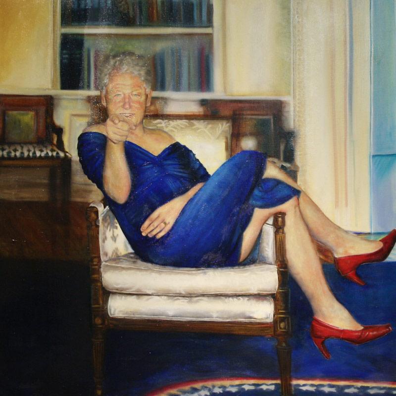 Petrina Ryan-Kleid, Parsing Bill (2012). Image via the New York Academy of Art.