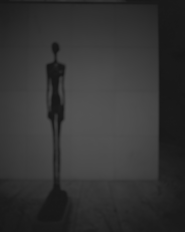 Hiroshi Sugimoto Past Presence 001, Tall Figure III, Alberto Giacometti, 2013 © Marian Goodman Gallery